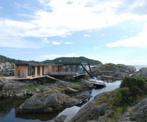 Taming Rugged Landscape: Enchanting Norwegian Holiday Home on a Small Island