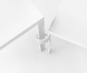 Tangle Side Table by nendo for Cappellini