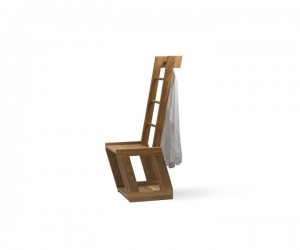 TB.12 Dress Chair Kleidersthl, Valet Stand Stummer Diener | Wooden Furniture | Tidyboy - Berlin