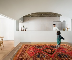 Team Living House by Masatoshi Hirai Architects Atelier