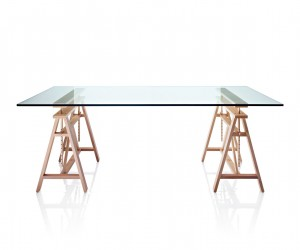 Teatro trestle table by Marc Berthier for Magis