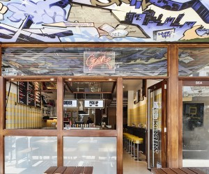 Techn Creates New York-Inspired Diner in Melbourne