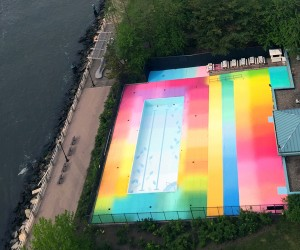 Technicolor Swimming Pool by HOT TEA