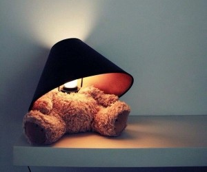 Teddy Bear Lamp From Suck UK