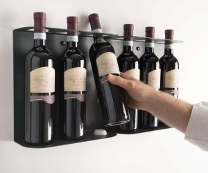 TEEwine, the bottle holder by Mauro Canfori