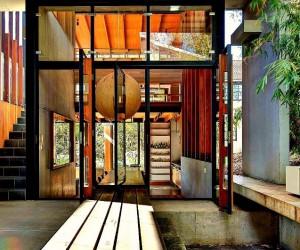 Temple-Inspired Australian House