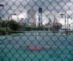 Tennis Courts by Giasco Bertoli