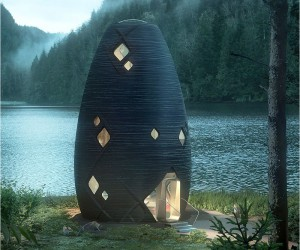 TERA : 3D Printed Sustainable Pods