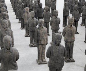 Terracotta Daughters by Prune Nourry