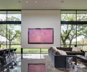 Texas Modern Ranch with Sophisticated Finishes and a Casual Elegance