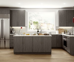 Textured TFL like EDGEWOOD Popular Option in Gen-Y Kitchens