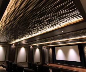 Custom Home W Soelberg Industries Ondata Textured Wall