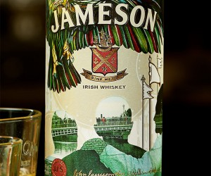 The 2018 Limited Edition Jameson Whiskey Bottle Design