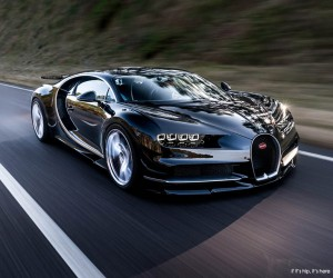 The 2.6 Million Bugatti Chiron Unveiled.