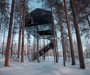 The 7th Room at Treehotel by Snhetta, Sweden