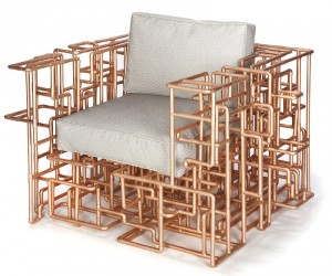 The American Pipe Dream Chair by BRC Designs