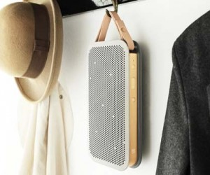 The Bang  Olufsen BeoPlay A2 Bluetooth Speaker
