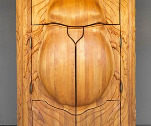 The Beetle Cabinet by Janis Straupe