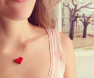 The Best Gift for Valentines Day Lego Necklace