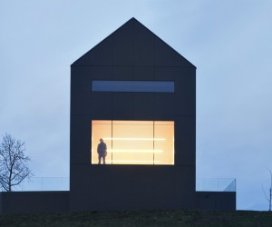 The Black Barn House by Arhitektura doo