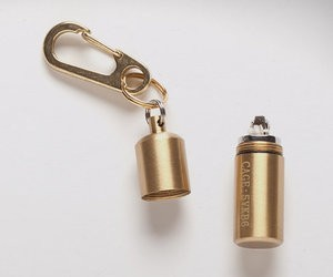 The Brass Peanut Lighter  Clip
