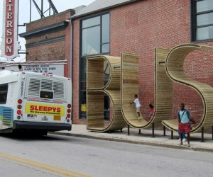 The BUS stop in Baltimore by mmmm...