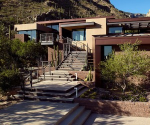 The Canyon Residence in Arizona by Kevin B Howard Architects