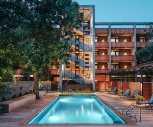 The Carpenter Hotel in Austin, Texas by Specht Architects