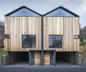 The Cedar Lodges by Adam Knibb Architects