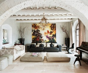 The charming S. Lucia Tuscan country house