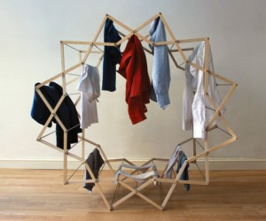The Clothes Horse star shaped drying rack