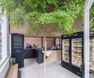 The Cold Pressed Juicery by Standard Studio, Nine Streets