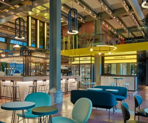 The Commons Restaurant in Maastricht by Studio Modijefsky