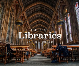 The Coolest Libraries on the Planet