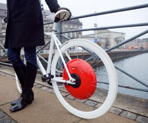 The Copenhagen Wheel by MIT SENSEable City Lab