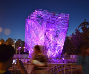 The Cube installation by Oyler Wu Collaborative