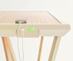The Current Table by Marjan van Aubel
