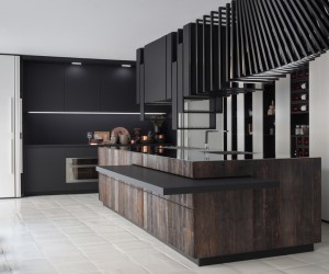 The Cut Kitchen design by Alessandro Isola