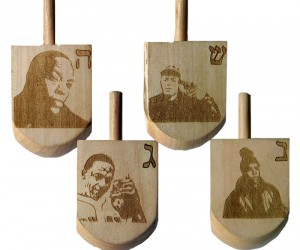 The Dr. Dre Dreidel for a Hip Hop Hanukkah.