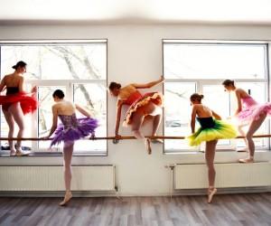 The Dream Of Being A Ballerina by Annija Veldre