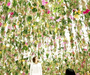 The enchanting suspended garden by TeamLab