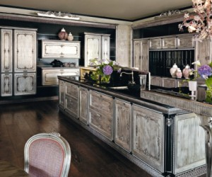 The Fenice baroque style kitchen