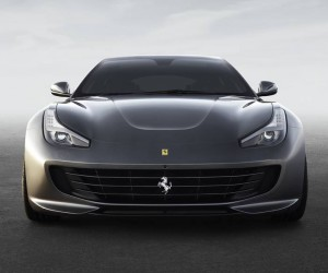 The Ferrari GTC4 Lusso Comes Out Into The Light