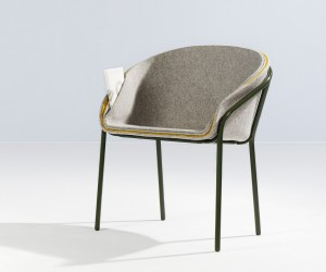 The Feuillet chair by Lili Gayman Julie Arriv