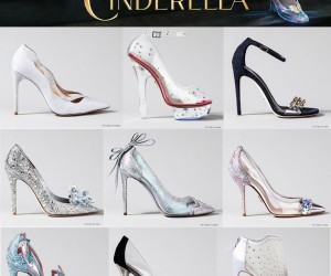 The Finished Designer Cinderella Glass Slippers