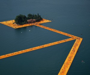 The Floating Piers Artwork Lets You Walk on Water