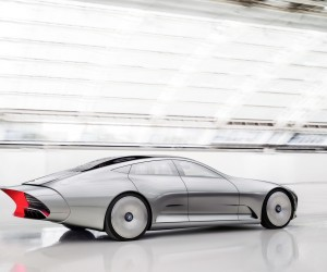 The Future is here: Mercedes-Benz Concept IAA Intelligent Aerodynamic Automobile