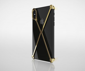 The Gold Plated iPhone X Radius Case