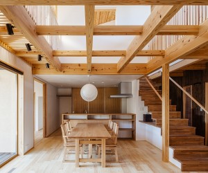 The Cocoon House | Traditional Japanese Elements Meet Modern Design