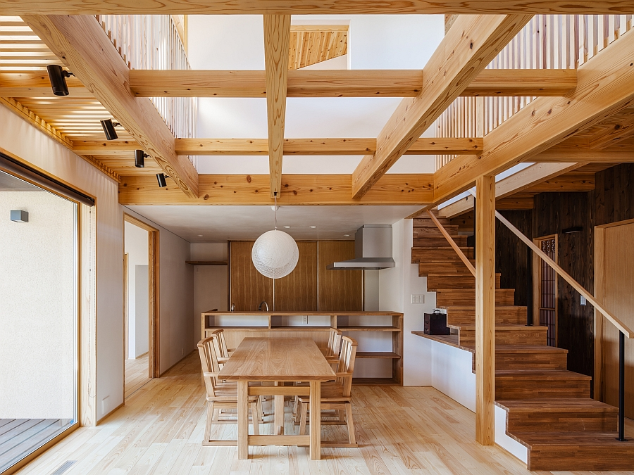 The Cocoon House Traditional Japanese Elements Meet